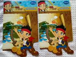 lot of 2 Rare Disney Junior Jake and the Neverland Pirates Sticker Book ... - $10.88