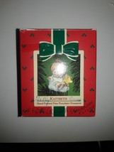 Hallmark Ornament KATYBETH Hand-painted  Porcelain QX463-1 1984 Free Shi... - $9.95