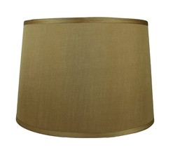 Urbanest French Drum Lampshade, Faux Silk, 14-inch by 16-inch by 12-inch... - $49.49