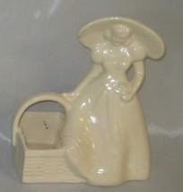 Brush McCoy Girl Planter Off White Color - $40.00
