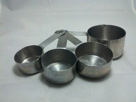 Stainless Steel Set of 4 Measuring Cups - $12.53