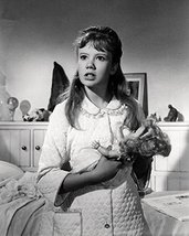 Hayley Mills Holding Doll 16X20 Canvas Giclee - $69.99