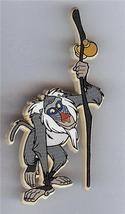Disney Lion King Rafiki Monkey UK plastic pin/pins - $14.50