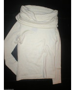 New Womens Helmut Lang Sweater Off White Cowl R... - $598.00