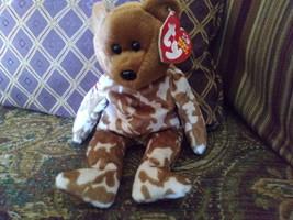 Ty Beanie Baby Hero Military UK Teddy Bear Stuffed Animal Plush image 5