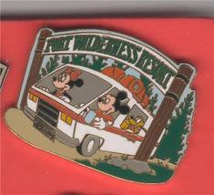 Disney Mickey, Minnie & Pluto in Van Fort Wilderness Resort  pin/pins - $37.72