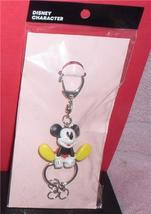 Disney Mickey Mouse  Figurine  key chain made of PVC Mint - $19.34