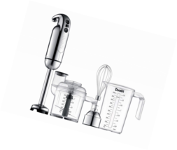 Dualit Immersion Blender with Accessory Kit, Chrome - $145.15