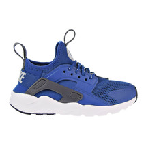 Nike Huarache Run Ultra Little Kids' Shoes Gym Blue-Wolf Grey-White 8595... - $74.95