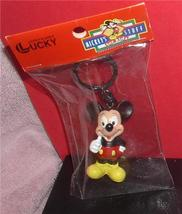 Disney Mickey Mouse thumb up  Figurine  key chain made of PVC Mint - $19.34