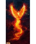 Rise To Success 200 Phoenix Deity ATTRACT POWER WEALTH LUCK FAST HEALING... - $36.00