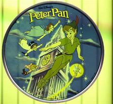 Disney Peter Pan London Clock Tinker bell Tinkerbell  Stained Glass - $99.99