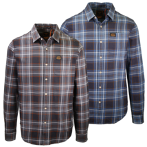 Superdry Men's Traditional Workwear Plaid L/S Woven Shirt  - $42.00