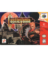 Castlevania N64 Great Condition Fast Shipping - $19.93