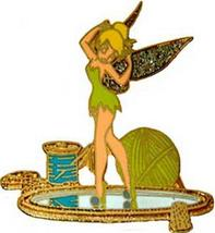 Disney Tinkerbell DLR - Memorable refections spool of thread Pin/Pins - $25.46