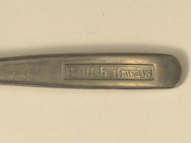 British Airways Stainless Steel Dinner Fork #2