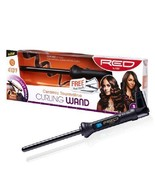 """Red by Kiss 1/2"""" Ceramic Tourmaline Curling Wand #CIW01 - $24.74"""