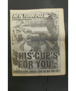 1994 New York Rangers WIN The CUp Sports Illustrated and NY Post Souveni... - $29.69