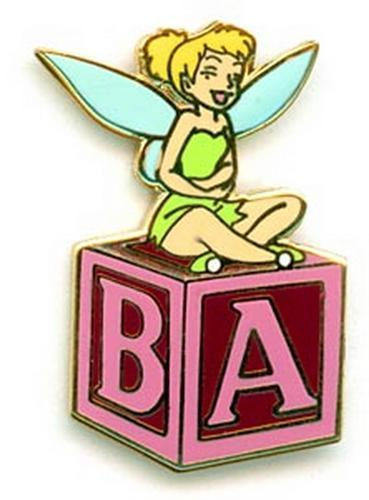 Disney WDCC  Tinkerbell  Tinkerbell Laughing  pin/pins