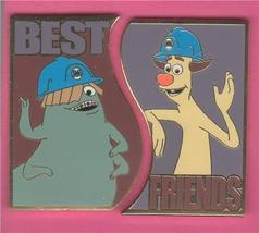 Disney WDW - Best Friends Monsters Inc. Custodians Best set  of 2 Pin/Pins - $28.05