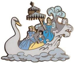 Disneyland  Princesses Float  Snow White Cinderella Aurora Parade Pin/Pins - $24.18