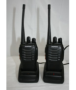 Set of 2 Baofeng Walkie Talkies ~ BF-888S UHF CTCSS DCS 16 Channel - $29.53