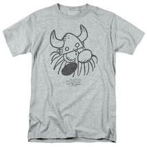 Hagar the Horrible graphic t-shirt Retro American Comic strip gray tee KSF172 image 1