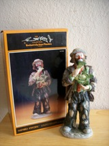 "Emmett Kelly JR. ""Eating Cabbage"" Figurine - $150.00"