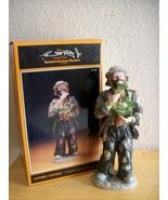 "Emmett Kelly JR. ""Eating Cabbage"" Figurine - $150.00"