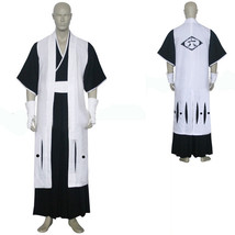 Bleach 6th Division Captain Kuchiki Byakuya Cosplay Costume - $65.58
