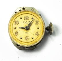 Elgin Grade 701 19 Jewels Not Running for Repair or Parts - $9.89