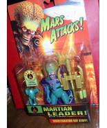 Mars Attacks Green Martian Leader orange card Action Purple Cape Figure MOC - $48.37
