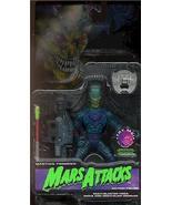 Mars Attacks blue Martian Trooper on blue card Action Figure - $26.11