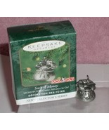 Monopoly Sack of Money made of pewter dated 2000 Hallmark Keepsake ornament - $12.00
