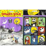 Nightmare Before Christmas All  Characters 72 stickers - $19.34
