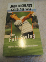 Jack Nicklaus Golf My Way VHS - $7.99