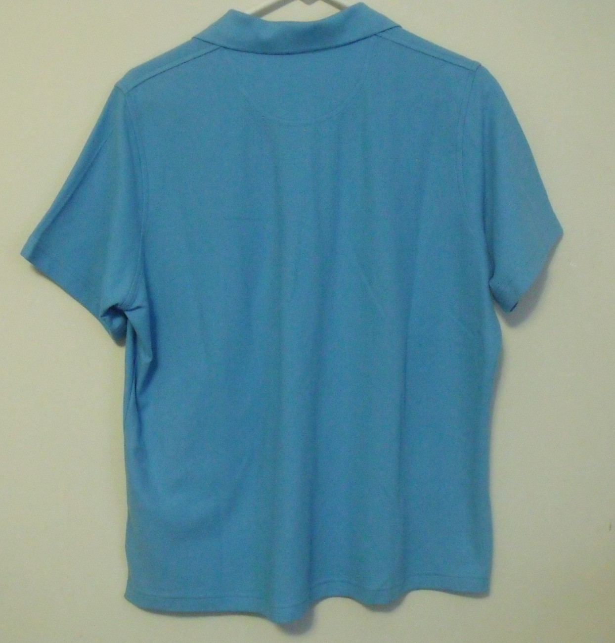 Womens Outer Banks NWOT Blue Short Sleeve Polo Shirt Size Large