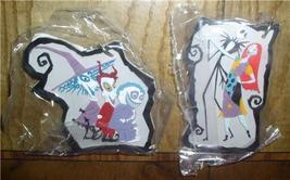 Nightmare Before Christmas Jack  Sally and Lock, Shock & Barrel 2 key chains - $14.50