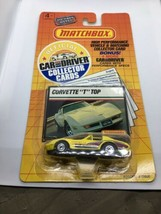 Matchbox Covette T Top Car And Driver Collector Cards NIP 1989 - $13.99