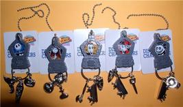 Nightmare Before Christmas Sally, Jack, Lock, Shock and Barrel 5 Key Chains - $29.69