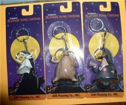 Nightmare Before Christmas Zero, Mayor and  Oggie Boogie 3 key chains MO... - $34.64