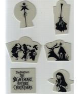 Nightmare Before Christmas glow in dark Jack Sally Mayor Zero LSB - $24.18