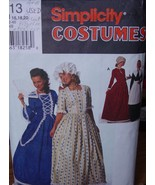 Sewing Pattern (Used) Historical Costumes sizes 16-20 Pilgrim, Prairie, ... - $6.99