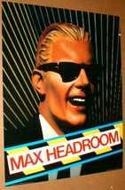 MAX HEADROOM 1986 Original Poster near MINT - $39.98