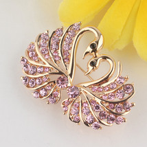 Brooches, 18 Gold Plated Austria Crystal Swarovski Gift - $5.99+