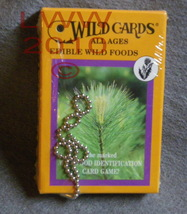 Edible Wild Foods Plant Life Identifying Playing Cards - $7.95