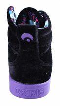 Osiris Raider Womens RAIDER Sneakers Purple and Black 5 B(M) US image 3