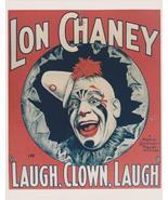 Lon Chaney Laugh Clown Laugh 8x10 Photo  - $9.99