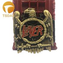 Antique Brass SLAYER Eagle Metal Belt Buckle Fashion For Men - $8.40