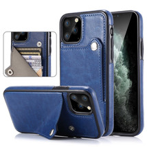 K74) Leather wallet FLIP BACK cover Case for Samsung Galaxy - $54.98